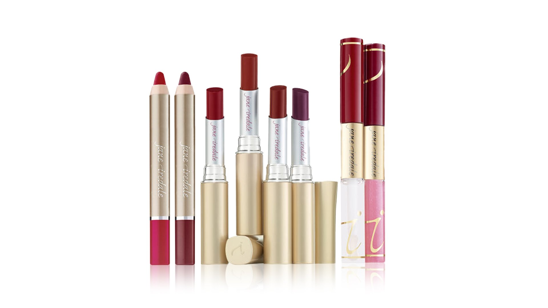 jane iredale lip definer lipsticks gloss plumper fixation